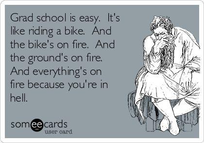 grad school hell